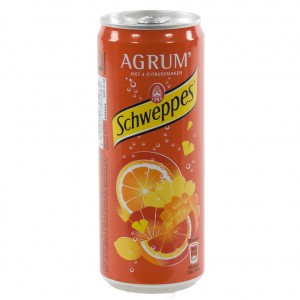 Schweppes Agrum  BLIK  Regular  33 cl  Blik