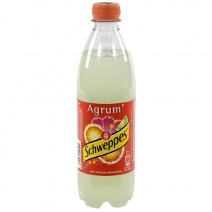 Schweppes agrum PET  Regular  50 cl   Fles