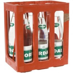 Ordal water  Soft Bruis  1 liter  Bak  6 fl