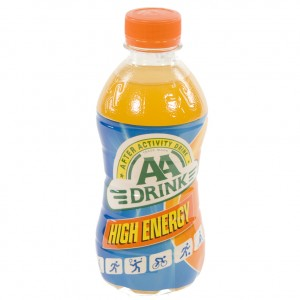 AA energy drank  Orange High Energy  33 cl   Fles