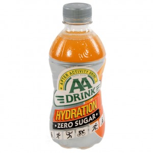 AA energy drank  Hydration Zero Sugar  33 cl   Fles