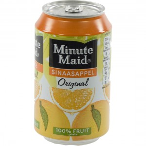 Minute Maid BLIK  Orange  33 cl  Blik