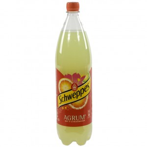 Schweppes agrum PET  Regular  1,5 liter   Fles