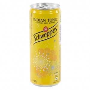 Schweppes Tonic BLIK  Regular  33 cl  Blik
