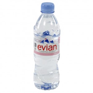Evian PET  Plat  50 cl   Fles