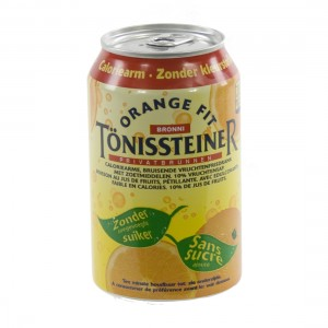 Tonissteiner BLIK  Orange  33 cl  Blik