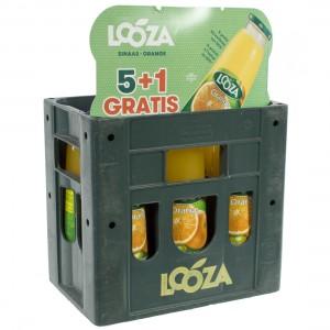 Looza fruitsap  Sinaas  1 liter  Bak 5+1 fl gr