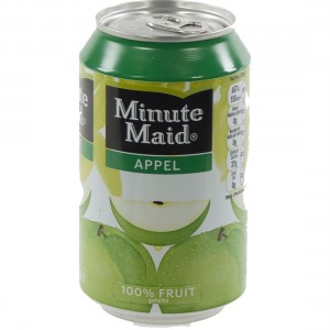 Minute Maid BLIK  Appel  33 cl  Blik