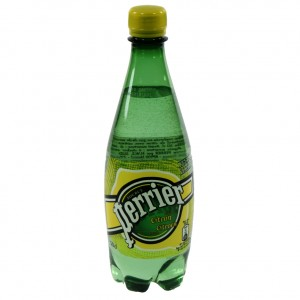 Perrier citroen PET  50 cl   Fles