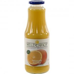 Weldenhof fruitsap  Sinaas  1 liter   Fles