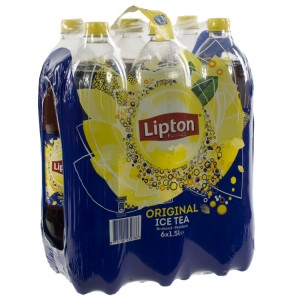 Lipton PET  Ice Tea  1,5 liter  Pak  6 st