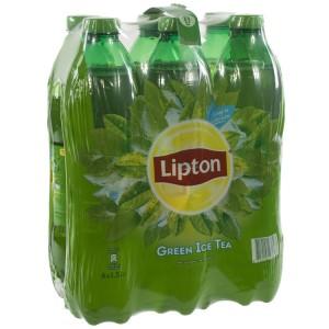 Lipton PET  Green tea  1,5 liter  Pak  6 st