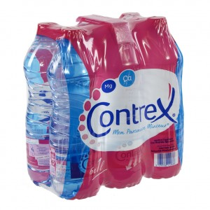 Contrex   Plat  1 liter  Pak  6 st