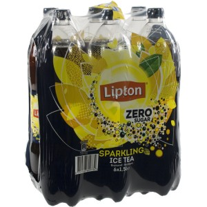 Lipton PET  Zero sugar  1,5 liter  Pak  6 st