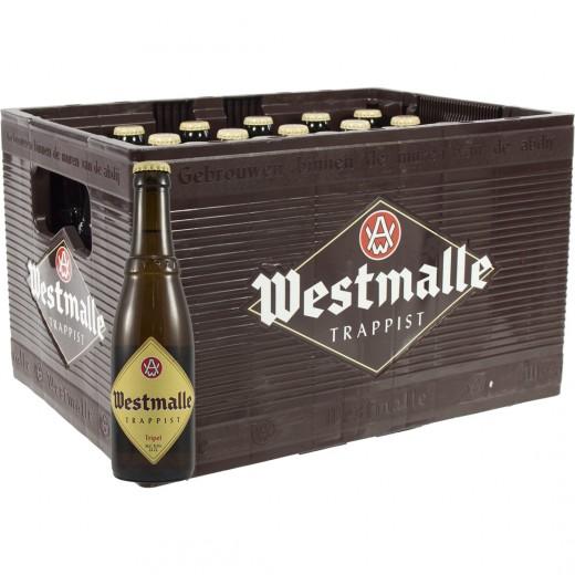 Westmalle  Tripel  33 cl  Bak 24 st
