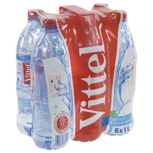 Vittel  PET  1 liter  Pak  6 st