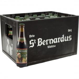 St Bernardus Christmas Ale  Donker  33 cl  Bak 24 st
