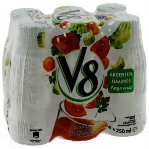 V8 Groentesap PET  25 cl  Pak  6 st
