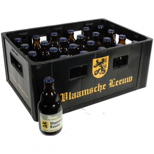 Vlaamsche Leeuw  Donker  33 cl  Bak 24 st
