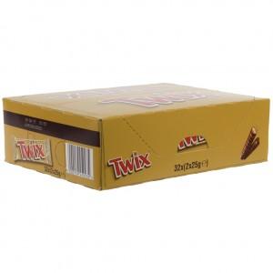 Twix  Doos 40 st  50 g