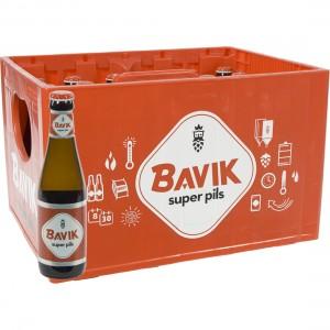 Bavik Super Pils  25 cl  Bak 24 st