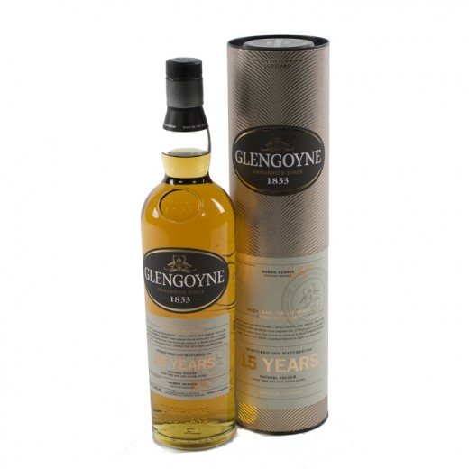 Glengoyne 15Years old Whisky 43%  70 cl