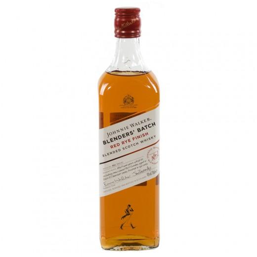 Johnnie Walker Red Rye Finish  70 cl   Fles