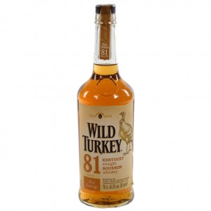 Wild Turkey 81 8 Years 40.5°  70 cl