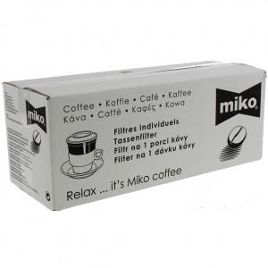 Miko filters Horeca bruin  Dessert  10 x 10st