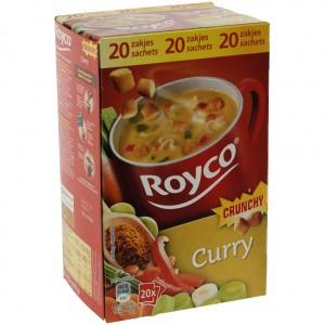 Royco soep doos  Curry  Doos 20st