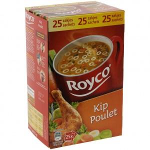 Royco soep doos  Kip  Doos 25 st