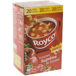 Royco soep doos  Tomaatsupreme  Doos 20st