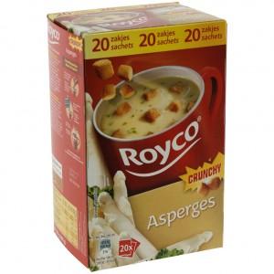 Royco soep doos  Asperges  Doos 20st