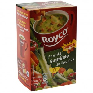 Royco soep doos  Groentensupreme  Doos 20st