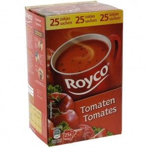 Royco soep doos  Tomaat  Doos 25 st