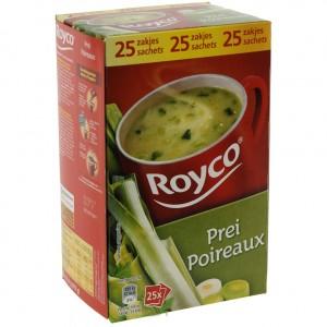 Royco soep doos  Prei  Doos 25 st