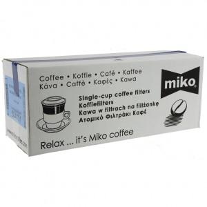 Miko filters Horeca bruin  Decafine  10 x 10st