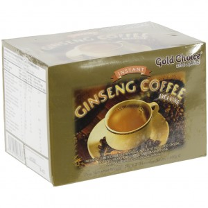 Ginseng Koffie gezoet  Doos 20st  20 gr