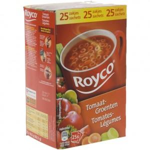 Royco soep doos  Tomaat groenten  Doos 25 st