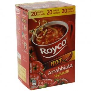 Royco soep doos  Arrabbiata  Doos 20st