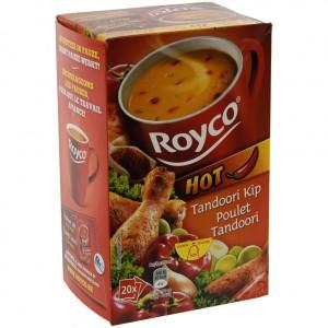 Royco soep doos  Tandoori  Doos 20st