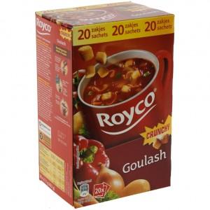Royco soep doos  Goulash  Doos 20st