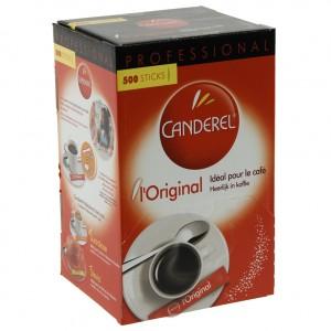 Canderel poeder sticks 0.5gr 500st.  Pak 500st