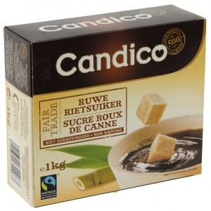 Candico rietsuiker blokjes Fair trade  1 kg