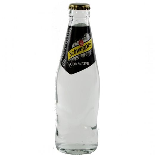 Schweppes soda  25 cl   Fles