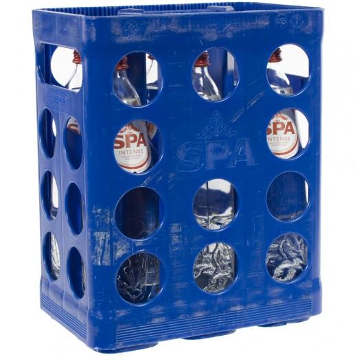 Spa water  Bruis  1 liter  Bak  6 fl