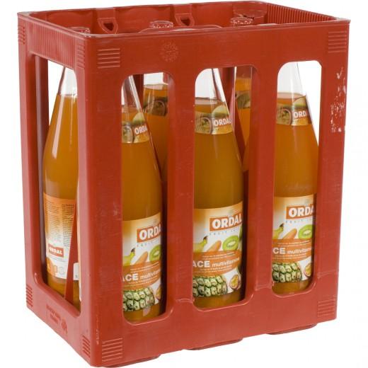 Ordal fruitsap  Multi  1 liter  Bak  6 fl
