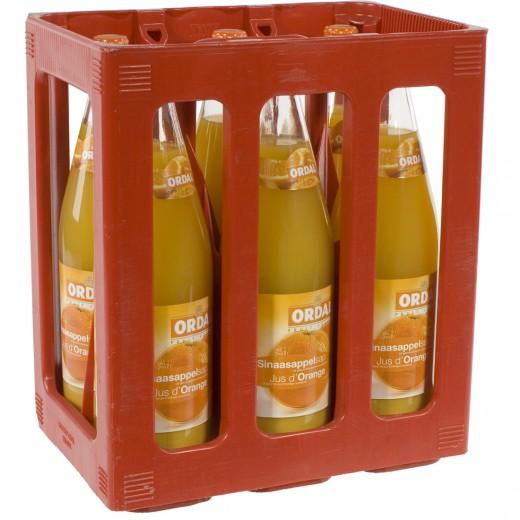 Ordal fruitsap  Sinaas  1 liter  Bak  6 fl