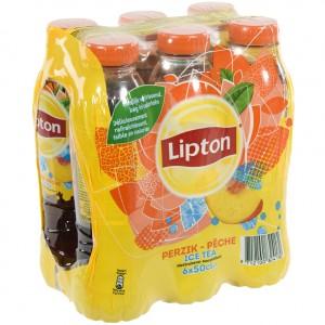 Lipton PET  Peche  50 cl  Pak  6 st