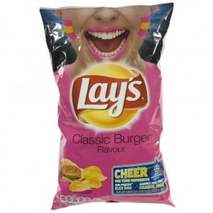 Lays Chips  Classic Burger   Stuk  200 g